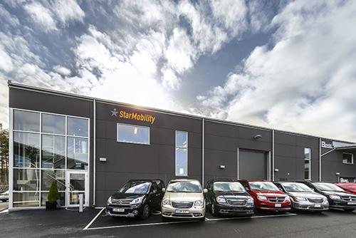 StarMobility kontorsfasad Göteborg